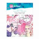 Jane Davenport Artomology Spellbinders Washi Girls Sheets (JD-013)